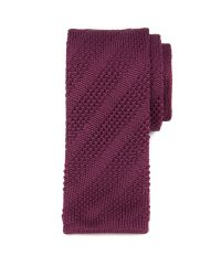 Ted Baker   Red Nitted Knit Tie for Men   Lyst