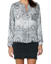 Parker | Multicolor Wasp Blouse | Lyst
