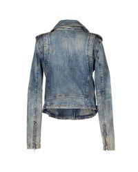 DIESEL - Blue Jacket - Lyst