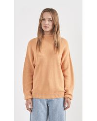 Won Hundred - Orange Catherine Sweater - Lyst