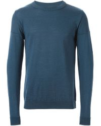 S.N.S Herning - Blue 'intro' Sweater for Men - Lyst