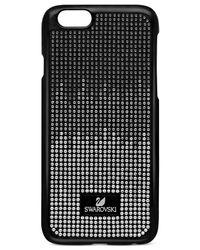 Swarovski | Black Crystalized Plastic Iphone 6 Case | Lyst