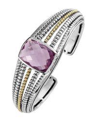 Lagos - Metallic 'prism' Cuff - Lyst