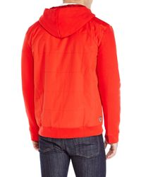 PUMA | Red Ferrari Hooded Sweat Jacket for Men | Lyst