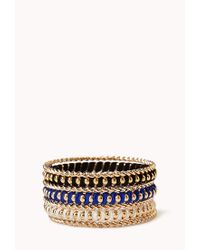 Forever 21 | Multicolor Eclectic Bangle Set | Lyst