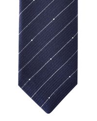 Jaeger | Blue Dot Stripe Tie for Men | Lyst