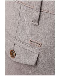 BOSS Orange - Gray Slim-fit Chinos: 'sandrew1-d' In Cotton Blend for Men - Lyst