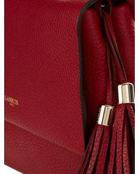 Lanvin - Red Sugar Mini Leather Shoulder Bag - Lyst