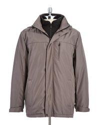 Calvin Klein - Gray Weather Proof Jacket for Men - Lyst