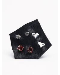 Free People | Red Tiny 6 Pack Studs | Lyst