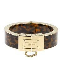 Michael Kors | Metallic Magnetic Bracelet Goldentortoise | Lyst