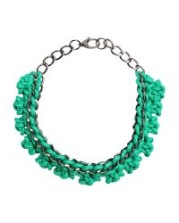 Alienina | Green Necklace | Lyst