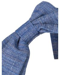 Masterpeace - Blue Good Girl Flat-Bow Denim Headband - Lyst
