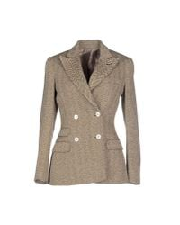 Alain - Brown Blazer - Lyst