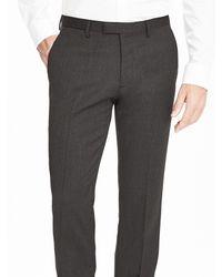 Banana Republic Multicolor Modern Slim Charcoal Wool Suit Trouser for men