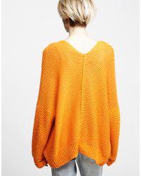 Wool And The Gang | Orange Vivienne Cardigan | Lyst