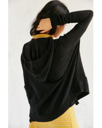 Silence + Noise   Black Take Your Time Cardigan   Lyst