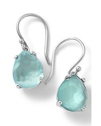 Ippolita | Blue 'wonderland' Teardrop Doublet Earrings | Lyst