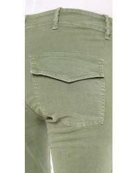 Nili Lotan - Green Cropped Military Pants - Lyst