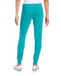 Calvin Klein   Blue Knit Jogger Pants   Lyst