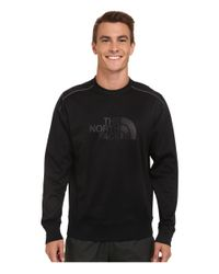 The North Face - Black Ampere Crew Sweatshirt for Men - Lyst