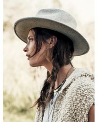Free People - Gray Lack Of Colour Womens The Mack Felt H - Lyst