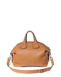 Givenchy | Brown Medium Nightingale Leather Satchel | Lyst