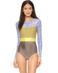 Seea - Brown Hermosa Surf Suit - Lyst