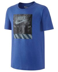 Nike - Blue Men's Air Graphic T-shirt for Men - Lyst