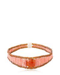 Ziio - Orange Armonia Bracelet - Lyst