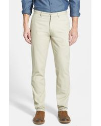 Patagonia | Natural Organic Cotton Canvas Straight Leg Chinos for Men | Lyst