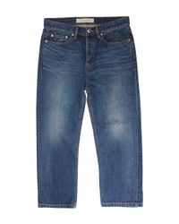 Marc By Marc Jacobs | Blue Cropped Boyfriend Jeans | Lyst