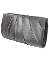 Nina - Metallic Larry Clutch - Lyst