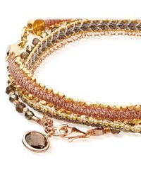 Astley Clarke - Multicolor Moonlight Days Bracelet Stack - Lyst