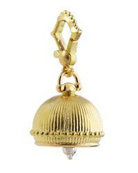 Paul Morelli | Metallic 18k #3 Plain Meditation Bell Pendant | Lyst