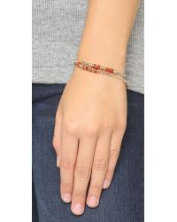 Shashi - Multicolor Pharrah Bracelet - Rust - Lyst