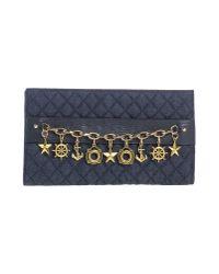Frankie Morello - Blue Handbag - Lyst