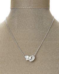 Swarovski | Metallic Silver-Tone Tasso Necklace | Lyst