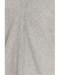 Vince - Gray Double Cashmere Sweater - Lyst