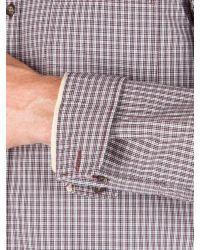 Racing Green | Purple Newton Small Check Shirt for Men | Lyst