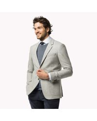 Tommy Hilfiger | Gray Wool Blend Slim Fit Suit for Men | Lyst