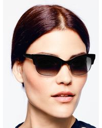 kate spade new york - Black Shira Sunglasses - Lyst