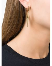 Marc By Marc Jacobs | Metallic 'triangle Pointer' Earrings | Lyst