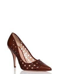 kate spade new york | Brown Lizette Heels | Lyst