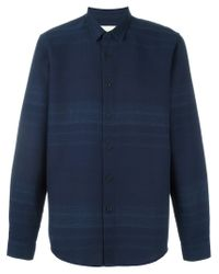 Folk - Blue 'fog' Shirt for Men - Lyst