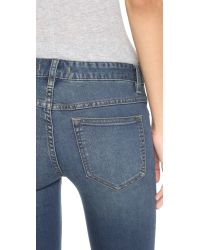 Free People - Blue Destroyed Jeans - Patsy - Lyst