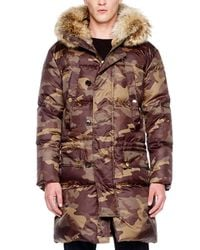 Michael Kors | Natural Furtrim Parka for Men | Lyst