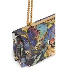 Valentino - Multicolor 'camubutterfly Va Va Voom' Nappa Leather Bag - Lyst