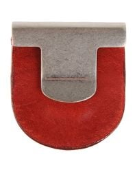 Maison Margiela - Red Brooch - Lyst