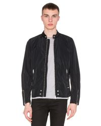 DIESEL | Black Edge-clean Jacket for Men | Lyst